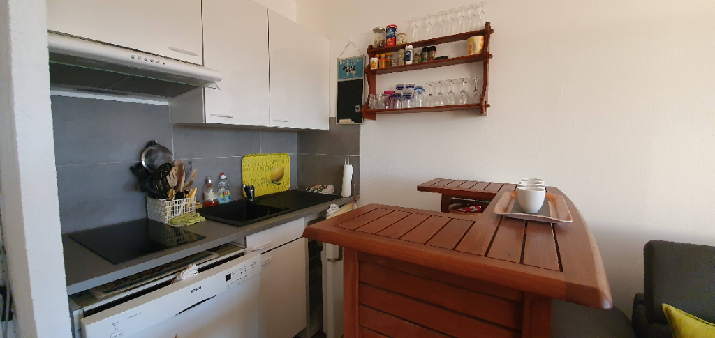 CAP D AGDE 2 PIECES + GARAGE PRIVATIF