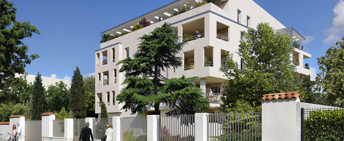 A vendre Appartement T4 neuf, Marseille 13008, éligible Pinel